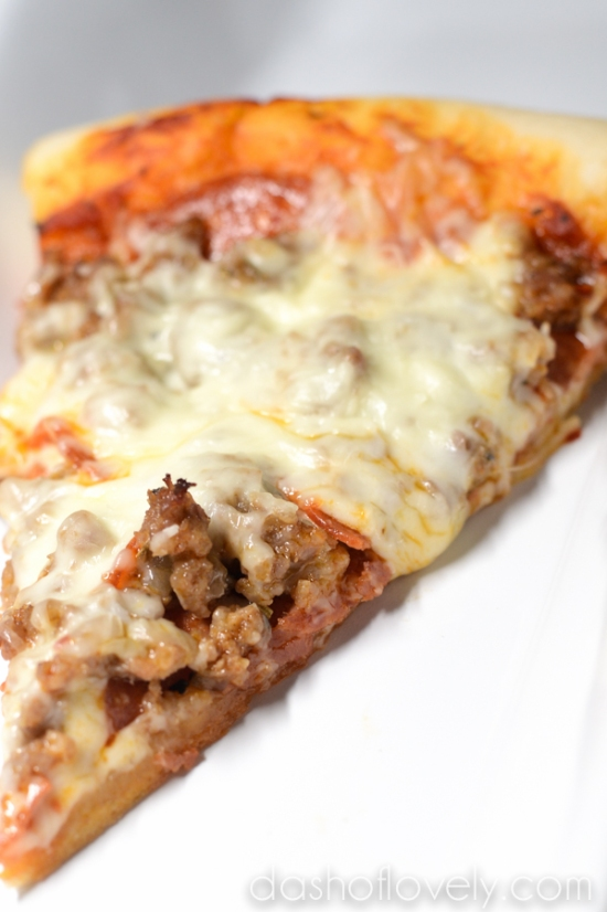 Pepperoni & Sausage Pizza