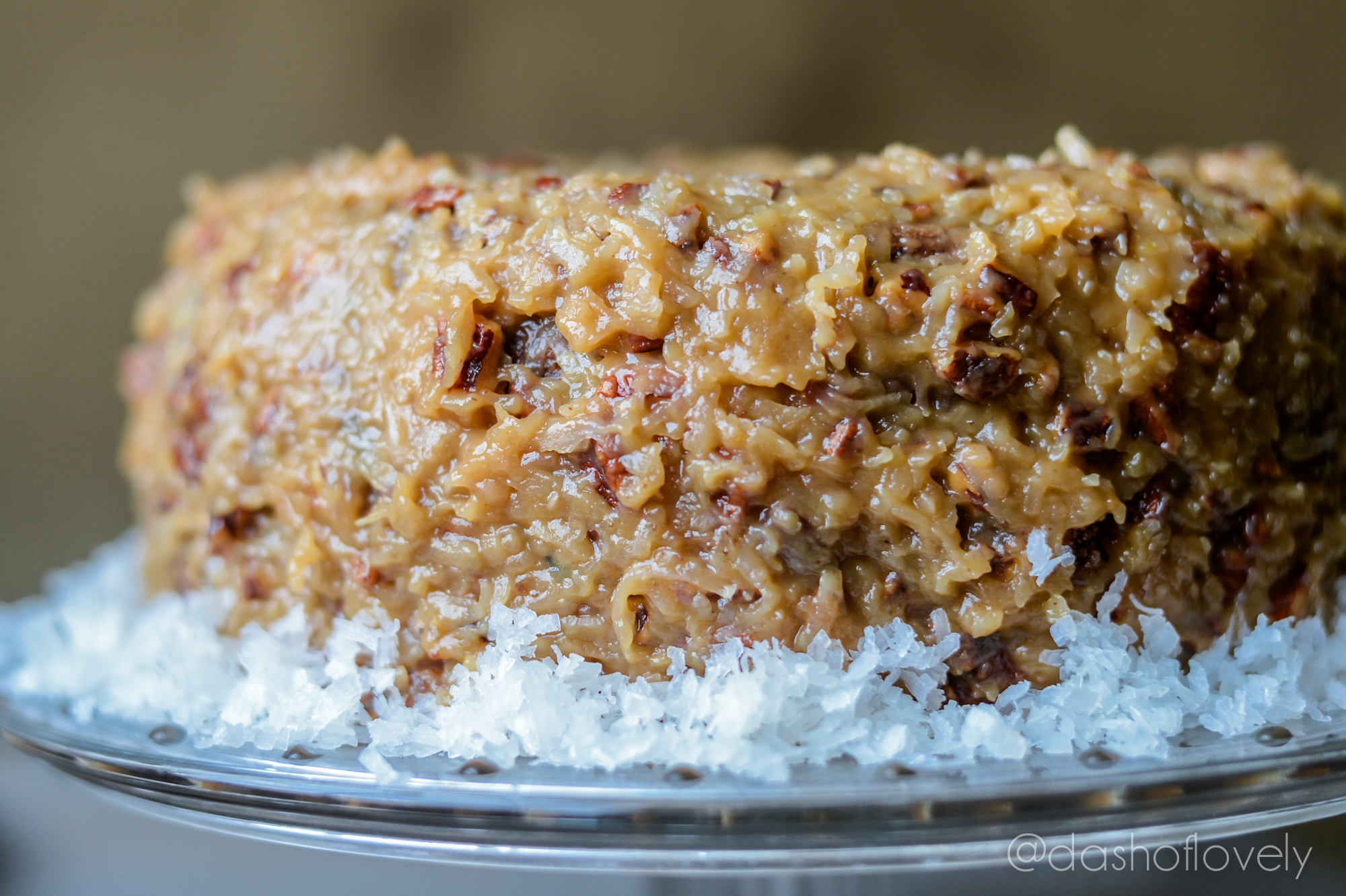 Bakers German Chocolate Cake With Cake Flour